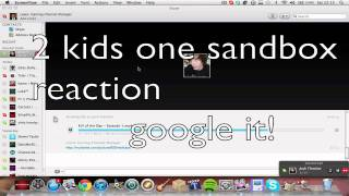 ★ 2 Kids One Sandbox Reaction + 9 Man 50 Cal Feed ★