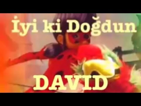 Happy Birthday DAVID :) Funny Birthday Message 1.VERSION, DOĞUMGÜNÜ VİDEOSU Made in Turkey :) 🎂
