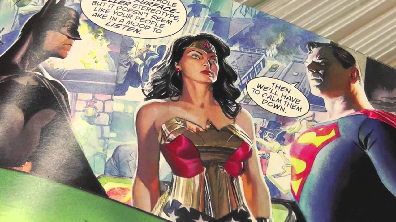 Wonder woman first comic book-8481