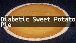 hqdefault - Sweet Potato Pie Recipe For Diabetes