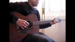 Train Wreck Blues - Blues Fingerstyle Example