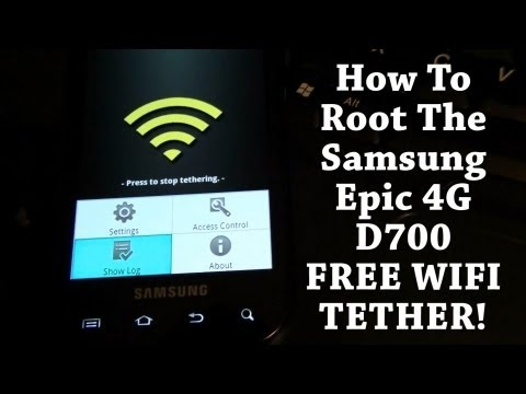 How To Root The Samsung Epic 4G!