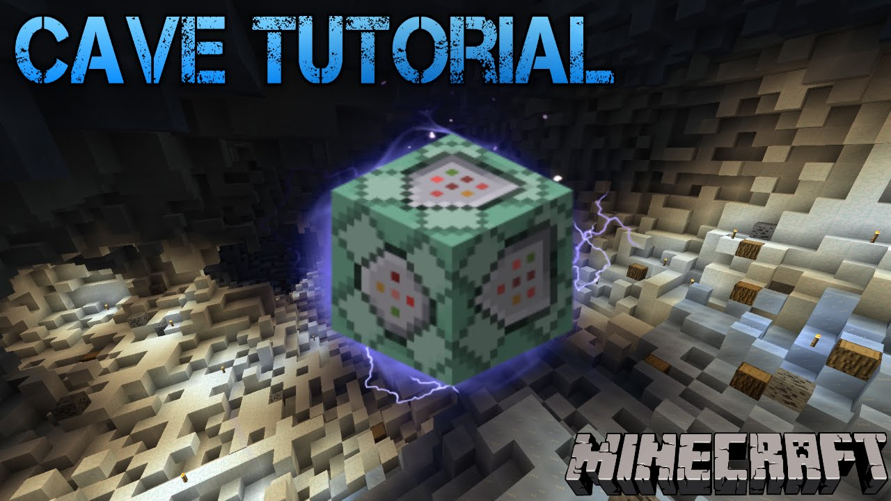 How To Generate Caves with Commands - Minecraft Tutorial
