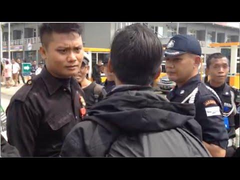 Pers/wartawan JAK TV diduga dihalangi saat ingin meliput kondisi Apartemen Green Pramuka City