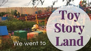 We Went To Toy Story Land!