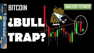 Bitcoin ¿BULL TRAP?   Btc/Criptomonedas TRADING ANÁLISIS/NOTICIAS