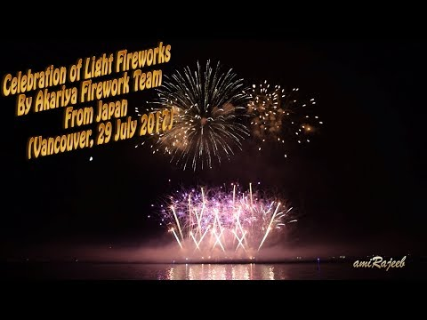 Winner of 2017 Celebration of Light Fireworks (Team Japan: July 29)