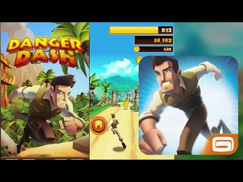 Danger Dash Android Gameplay - Temple Run Like Game