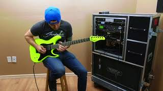 Schecter Sun Valley Shredder Birch Green Demo