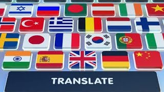 Write all languages without using Google translate