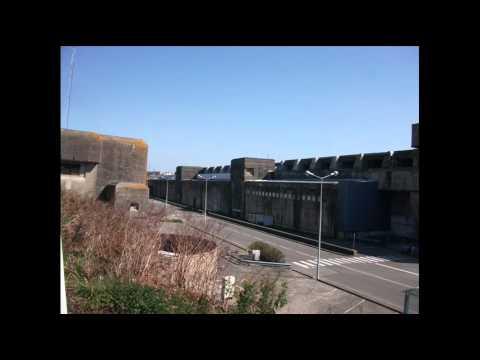 Former U-Boat Base at Brest France 24 03 12