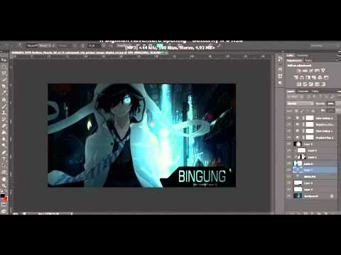 Adobe Photoshop Tutorial How To Make Wallpaper Anime Cara Membuat Wallpaper Anime By Hady Ryu