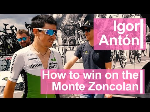 Igor Antón: How to win on the Monte Zoncolan