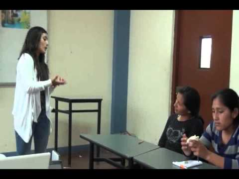 La Cantuta University - Catherine Peñaloza Demo Class (Part 1)
