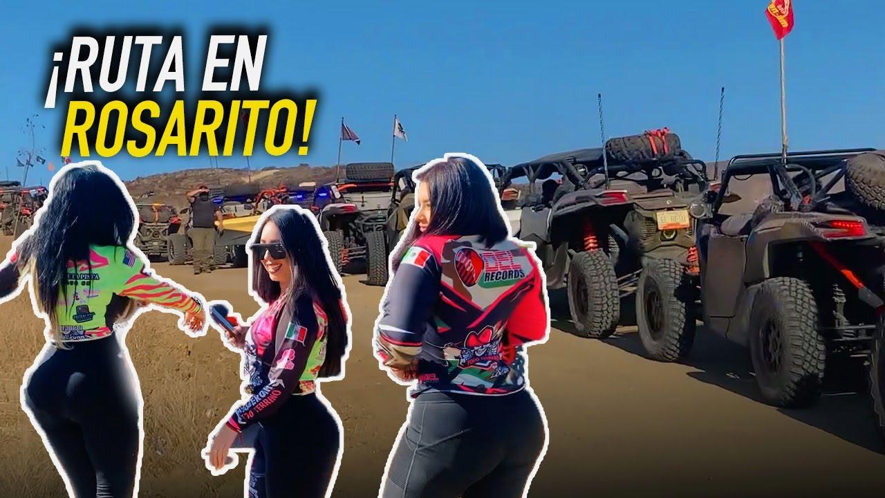 RUTA en CAN AM X3 en ROSARITO - PARTE 1   Rodolfo Villanueva