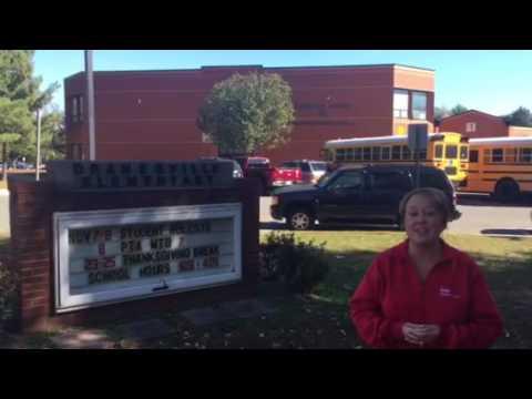 Volunteering at Dranesville Elementary School - Nov. 2016