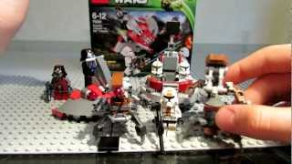 видео: Lego Star Wars 75001 Republic Troopers vs. Sith Troopers Review