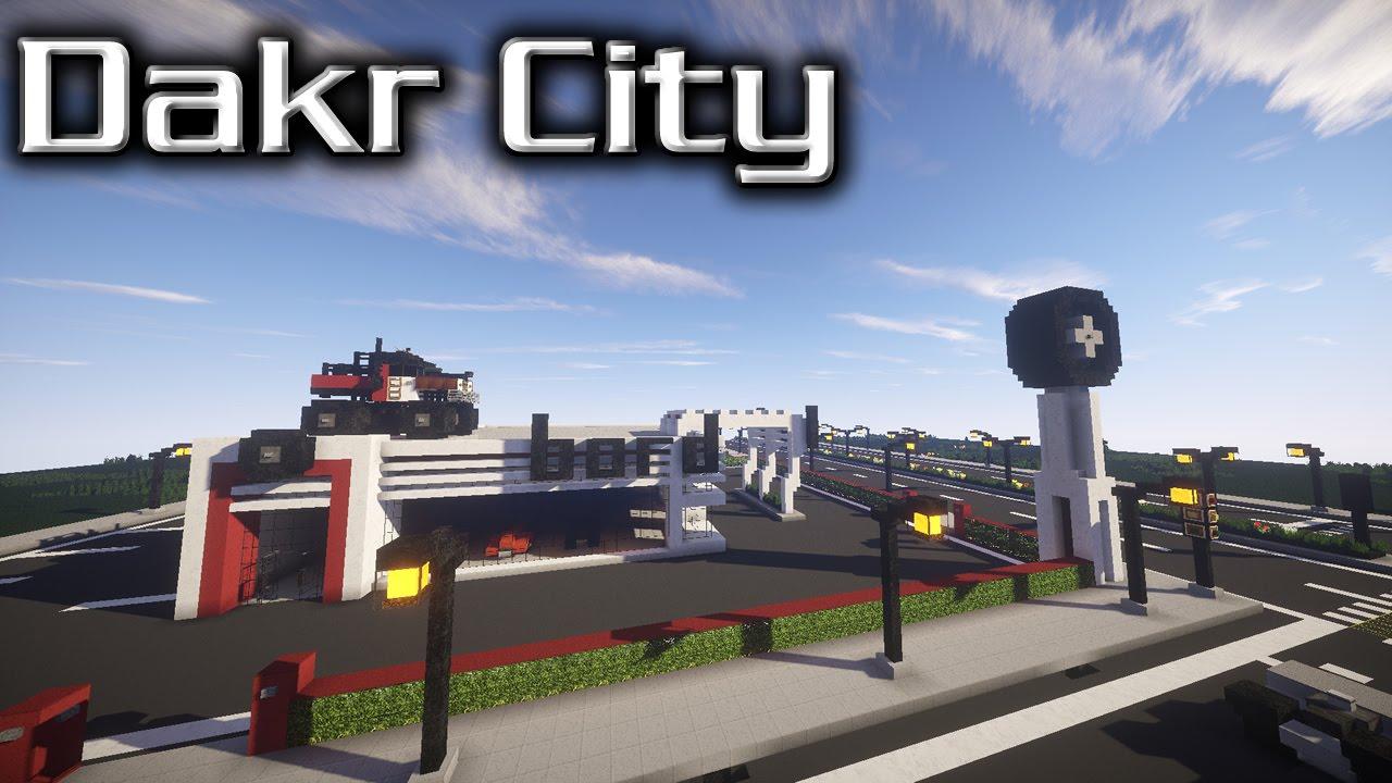 Minecraft Car Dealership Map