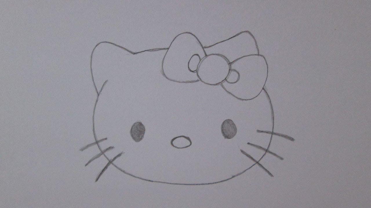 Desenhos Tumblr De Mão Estalando Como Fazer: Como Desenhar A Hello Kitty