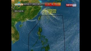 BT: Weather update as of 11:46 a.m. (February 18, 2019)
