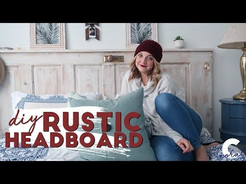 DIY VINTAGE DOOR HEADBOARD | Buy Or DIY
