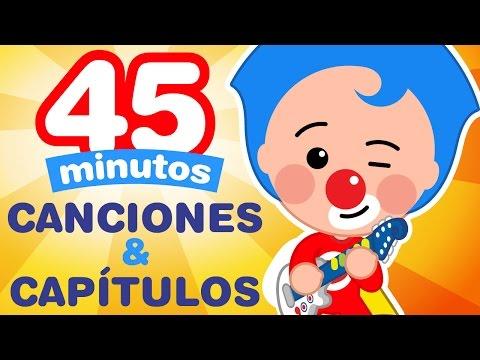 Plim Plim - 45 Minutos De Capitulos & Canciones Nuevas - Dibujos Animados