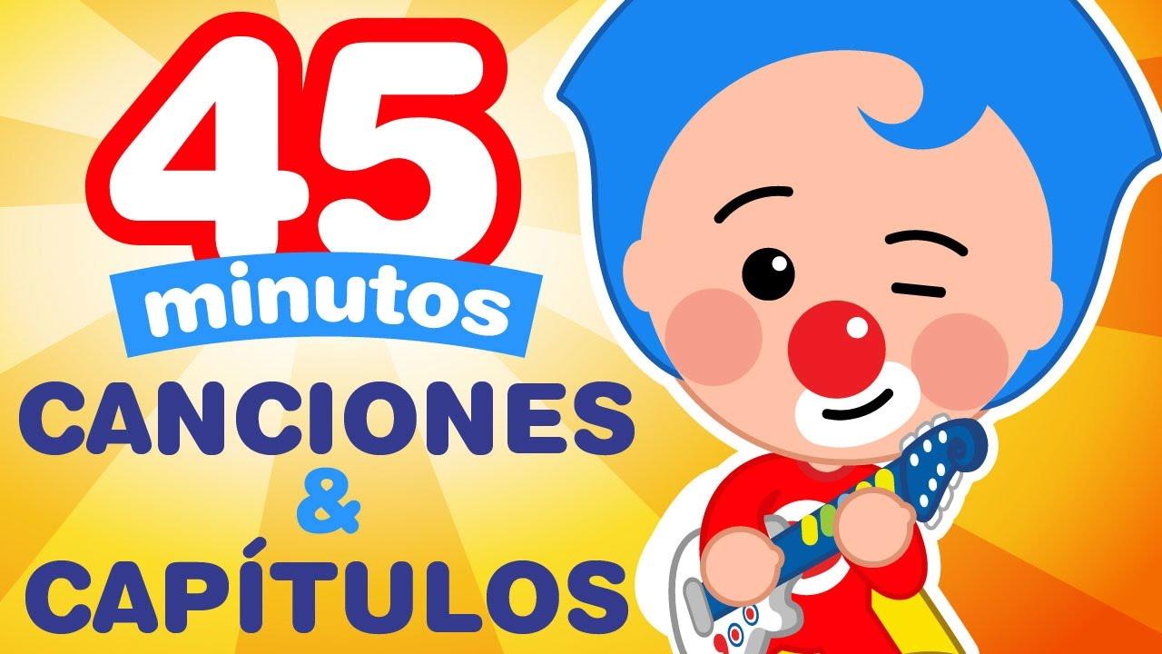 Download Plim Plim - 45 Minutos de Capitulos & Canciones Nuevas - Dibujos Animados