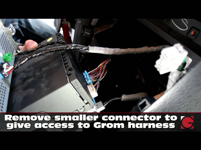 Acura MDX 2005 2006 2007 GROM USB Android Bluetooth and iPhone install, car stereo removal guide