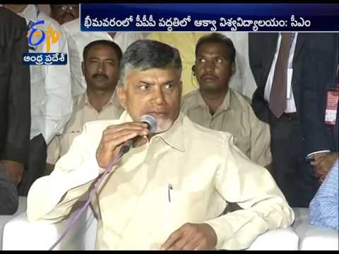 Expert Committee For Aqua Development in AP Soon: Chandrababu