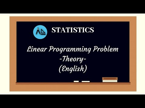 Linear Programming -  LPP Theory - Spicy Mathematics - College Section