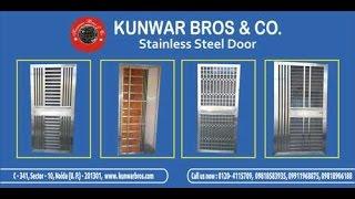 Stainless Steel Main Gate & Security Door