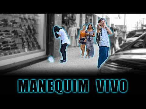 PEGADINHA - MANEQUIM VIVO ASSUSTANDO PESSOAS - Mannequin Prank