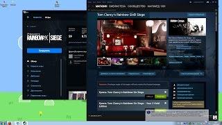 Игра Uplay открывает Steam