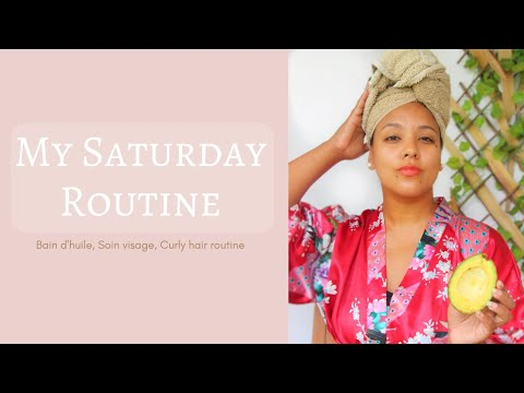 MY SATURDAY ROUTINE ! CURLY HAIR ROUTINE