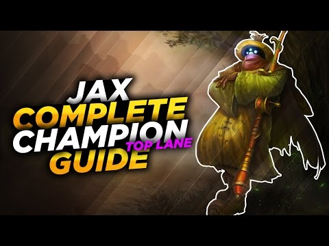 Jax: The Hybrid Carry - League of Legends Champion Guide [SEASON 7]