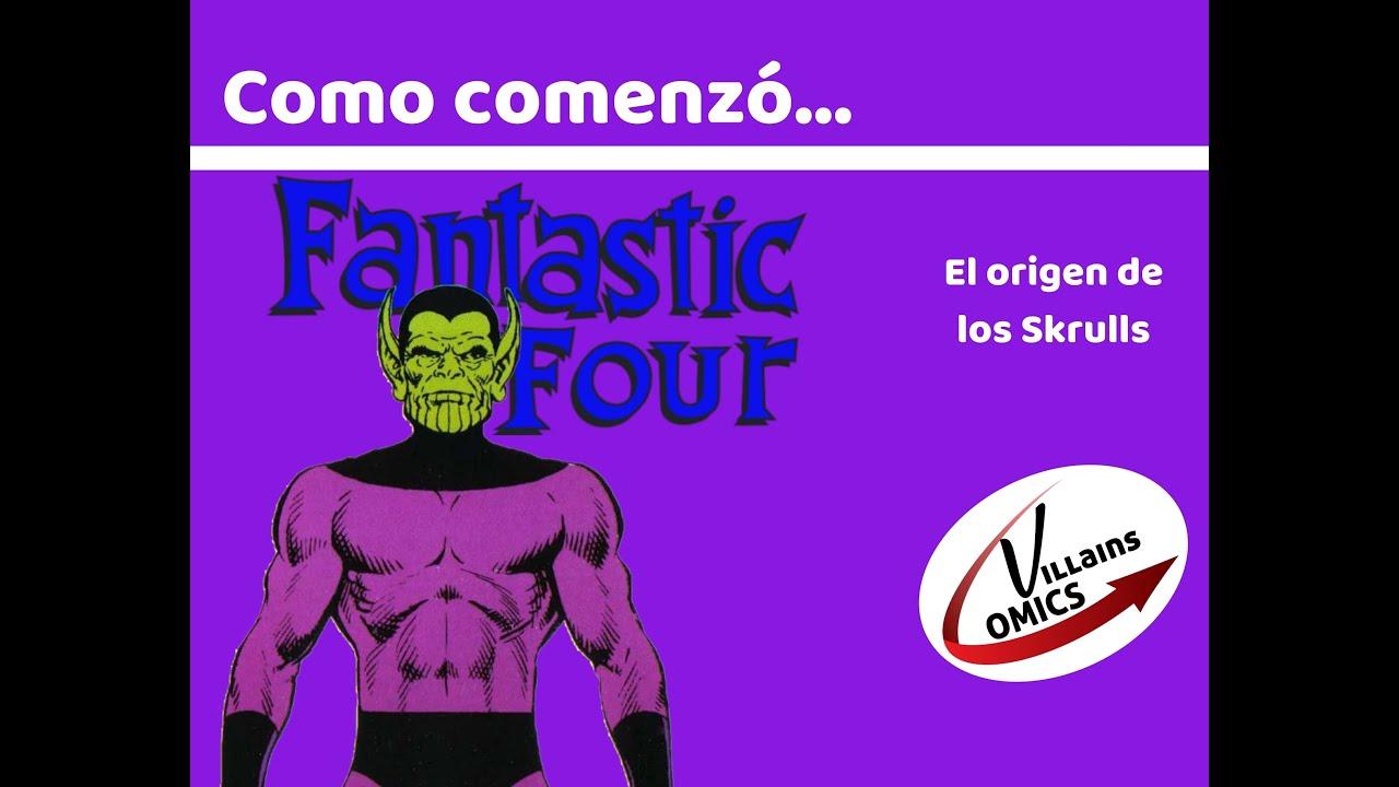 Cuatro Fantásticos - El origen de los Skrull