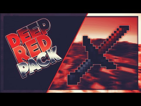 ❌ Minecraft PvP Texture Pack - DEEP RED PACK [32X] [FPS+] [NO LAG] [1.7/1.8] ❌