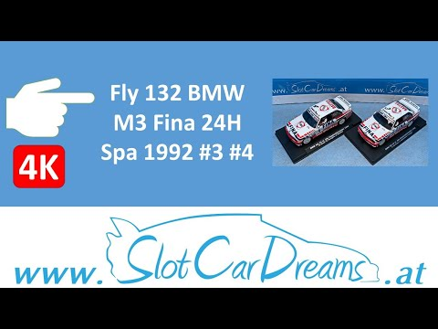 Fly 132 BMW M3 Fina 24H Spa 1992 #3 #4