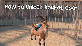 How to unlock rocket goat - goat simulator payday - iOS/android