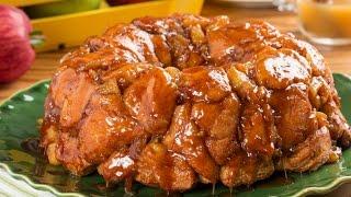 Caramel Apple Monkey Bread