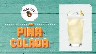 How To Mix A Piña Colada With Malibu