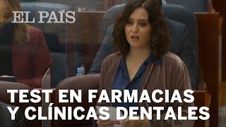 Declaraciones de Isabel Díaz Ayuso