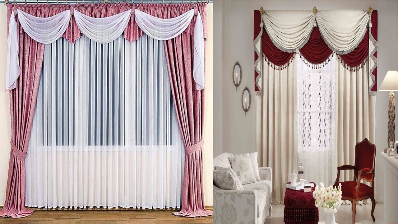 Curtain Design For Living Room | Parda Design | Curtain Design ...