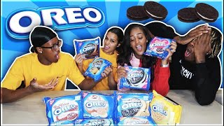 OREO CHALLENGE ft NIQUE AND KING!!