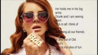 Lana Del Rey- Video games ( lyrics/Paroles)