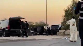 انتحار مسلح أم الهيمان بإطلاق النار على رأسه بعد محاصرة الشرطة له