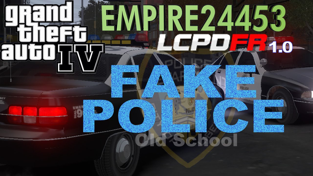 GTA4 | Patrolling As Fake Police