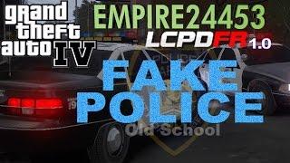 GTA4 | Patrolling As Fake Police