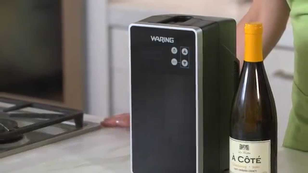 Drink Wine At The Right Temperature With Waring Chiller Williams Sonoma You