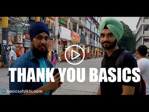 Basics helped me get into Sikhi - THANK YOU! Chandigarh (in Punjabi)